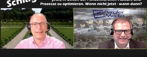 Schlaglicht: Richard Pergler im Gespräch mit Mario Schubert