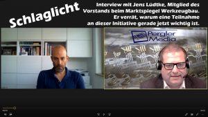 Schlaglicht: Richard Pergler im Gespräch mit Jens Lüdtke
