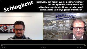 Schlaglicht: Richard Pergler im Gespräch mit Frank Werz