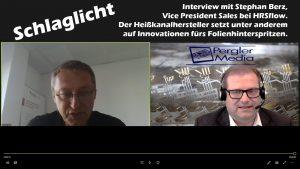 Schlaglicht: Richard Pergler im Gespräch mit Stephan Berz