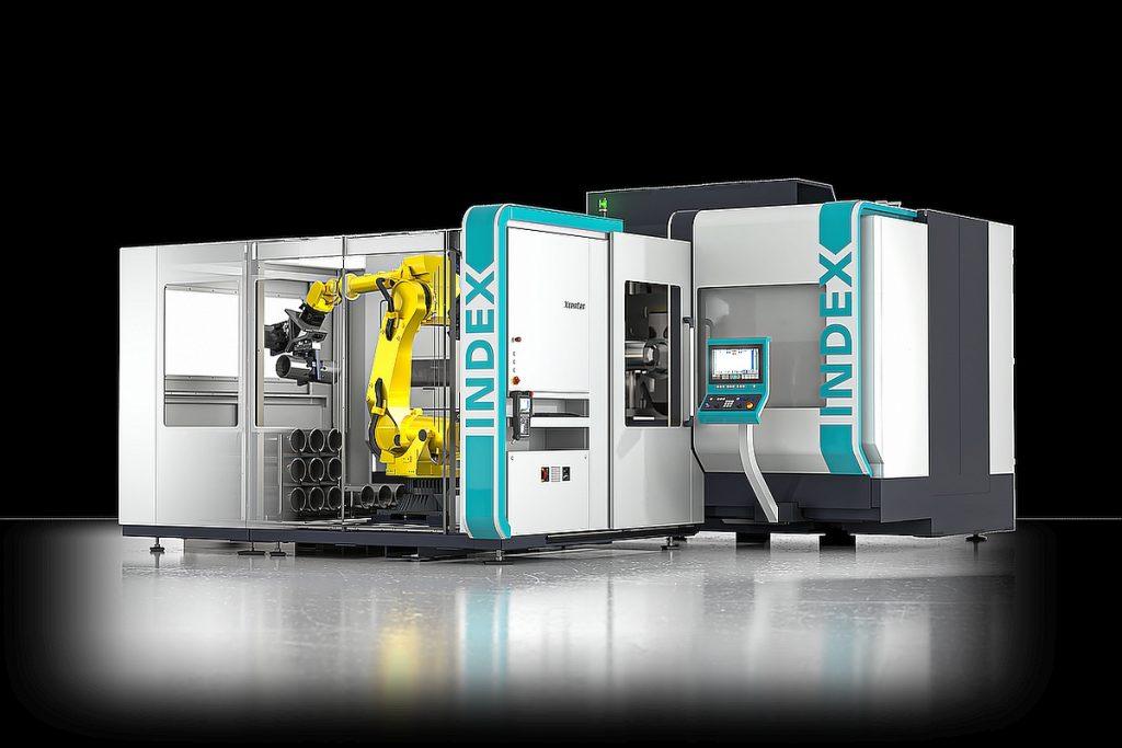 Das iXcenter zur Automation von Index-Maschinen