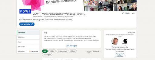 LinkedIn-Auftritt des VDWF