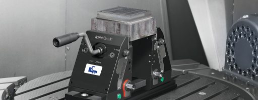 Kipp: kompakter 5-Achs-Spanner KippflexX