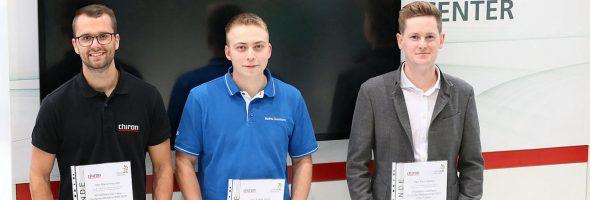 Chiron: Lukas Weiß ist Deutscher Meister im CNC-Fräsen