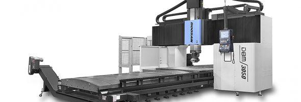 Doosan: Neue Doppelständermaschinen für große Komponenten im Formenbau