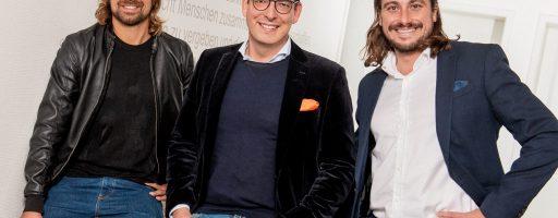 Online-Gebrauchtmaschinenhändler Gindumac von Schuhe24 übernommen: Janek Andre, Dominik Benner und Benedikt Ruf