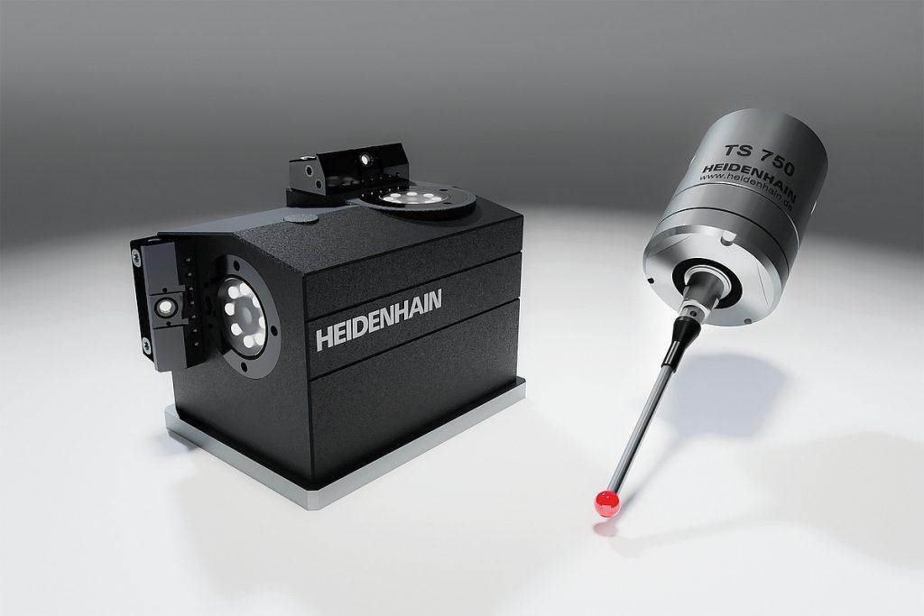 Duo für das präzise In-Process-Messen von Heidenhain: das Kamerasystem VT 121 und der Taster TS 750. - Bild: Heidenhain