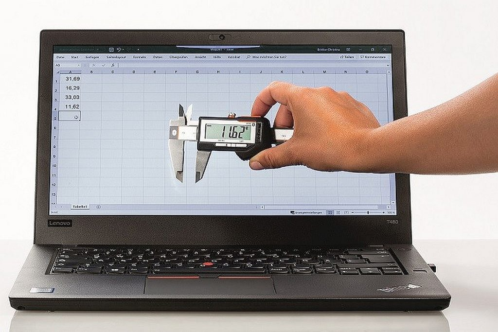 Digitaler Messschieber Garant HCT IP67 mit Bluetooth-Anbindung