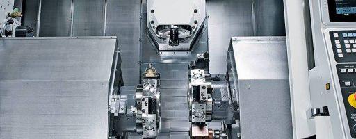 Den Antrieb des NT-Smart Cube übernimmt ein leistungsstarker 22-kW-Motor. Im Standard kann die Maschine mit bis zu 12000 Umdrehungen/min fräsen. - Bild: Nakamura-Tome