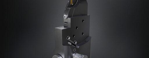 Das gemeinsam von Horn und Kistler entwickelte Überwachungsmodul Piezo Tool System (PTS) überwacht den Werkzeugzustand und umfasst einen Kraftsensor, der ins Drehwerkzeug eingebaut wird. - Bild: Horn