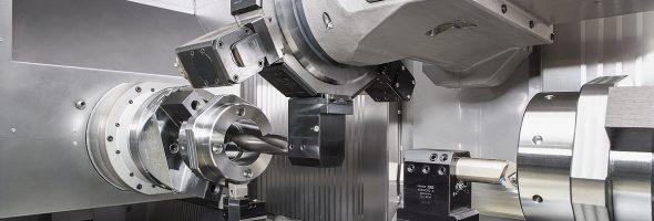 Index: Dreh-Fräszentrum G400 für lange und schwere Werkstücke