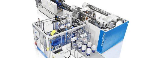 KraussMaffei-Spritzgießmaschine der GX-Baureihe mit 13 000 kN Schließkraft