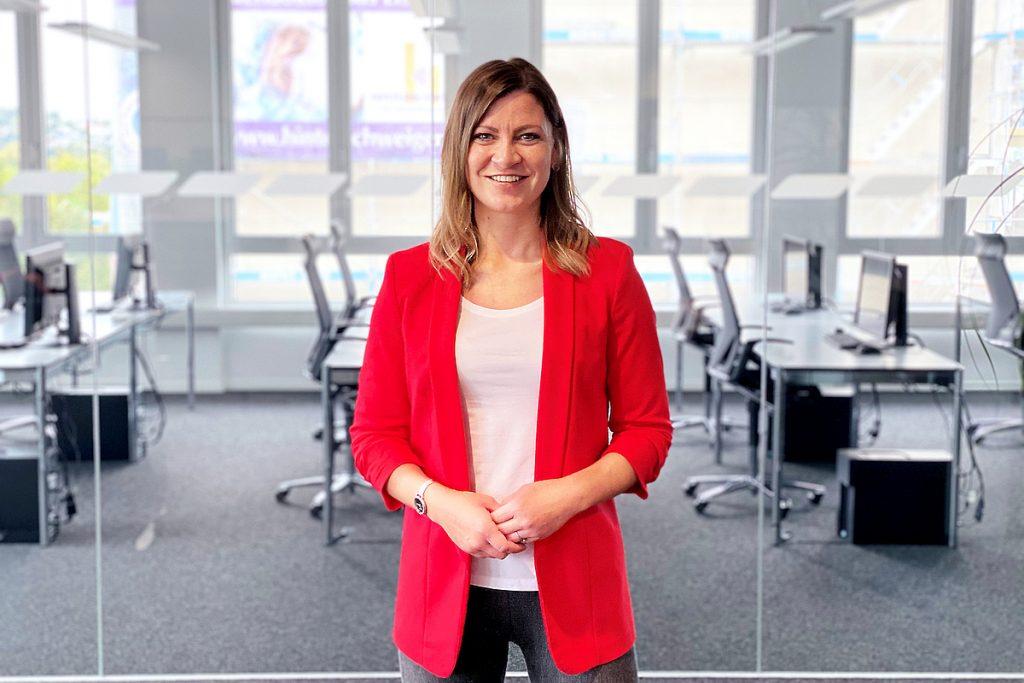 Melani Fritsch, Vertrieb und Marketing beim Marktspiegel Werkzeugbau