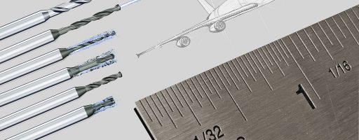 Mikron Tool bietet nun Werkzeuge mit Durchmessern in Zollbruch-Maßen an. - Bild: Mikron Tool