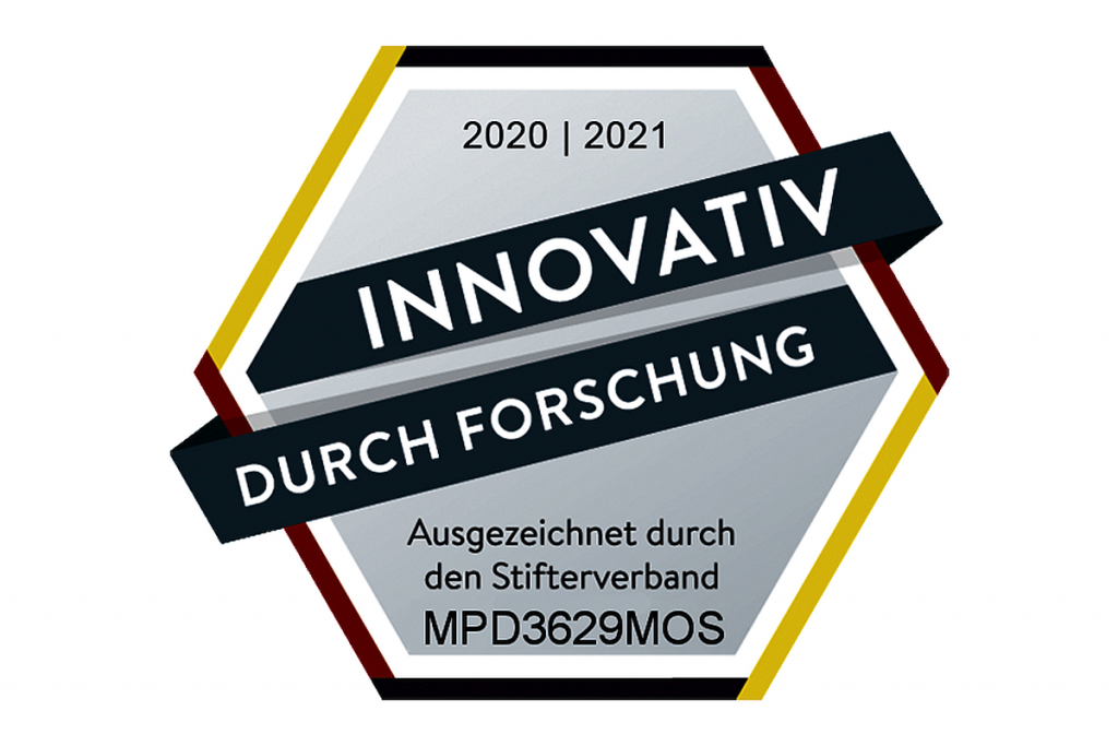 """Das Softwareunternehmen MPDV aus Mosbach wurde vom Stifterverband mit dem Gütesiegel """"Innovativ durch Forschung"""" ausgezeichnet. - Bild: MPDV"""