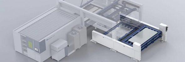 Trumpf: Leistungsfähiger Materialspeicher für mannloses Laserschneiden