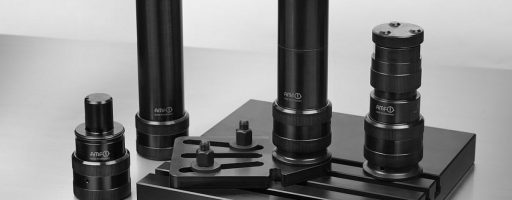 """Der flexible und modulare Schraubbock des Fellbacher Spanntechnikspezialisten AMF konnte die Jury des Designwettbewerbs Focus Open 2020 In der Kategorie """"Investitionsgüter/Werkzeuge"""" nicht zuletzt mit seiner Funktionalität überzeugen. - Bild: AMF"""
