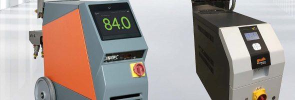 GWK: Kompakte Temperiergeräte mit integriertem Wasserverteiler