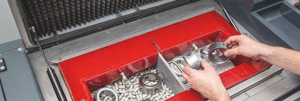Hoffmann Group: Gleitschleifmaschine GMT35 für ein perfektes Finish