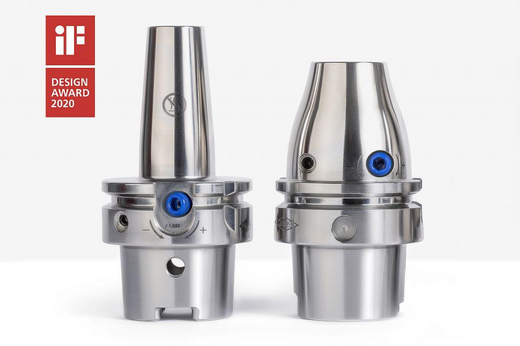 Die neuen Hydrodehnspannfutter im ausgezeichneten Mapal-Design: Hydro DReaM Chuck 4,5˚ und Hydro Mill Chuck sollen dank ihrer hohen Stabilität und Genauigkeit sehr progressive Bearbeitungsparameter ermöglichen. - Bild: Mapal