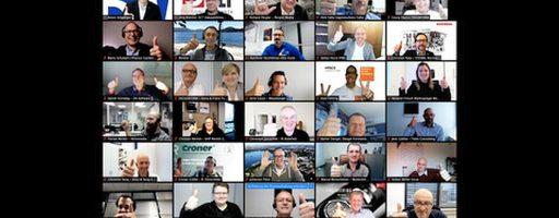 Die 27. Hauptversammlung des Verbands Deutscher Werkzeug- und Forenbauer (VDWF) musste als Online-Videokonferenz ausgerichtet werden. Die Corona-Pandemie erlaubte kein physisches Treffen. Die gelungene Hauptversammling zeigt aber auch, dass der VDWF den Sprung in die digitale Welt geschafft hat. - Bild: VDWF/wortundform