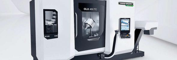 DMG Mori: Universaldrehmaschine CLX 450TC ermöglicht flexibles und effizientes Rüsten