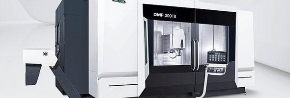 DMG Mori: Eine der Weltpremieren des DMG Mori Digital Event ist die Fahrständermaschine DMF 300|8
