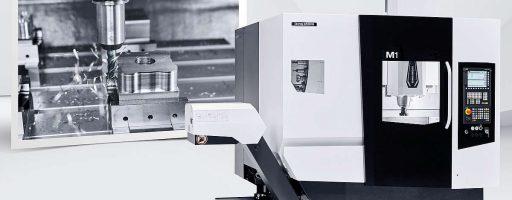 """Sie ist dazu bestimmt, die neue """"Meisterklasse"""" in der Werkstatt zu werden: Mit dem 3-Achs-Bearbeitungszentrum M1 positioniert DMG Mori eine Maschine im Massenmarkt, die auch unter schwierigen Fräsbedingungen überzeugende Leistungen bringen soll. - Bild: DMG Mori"""