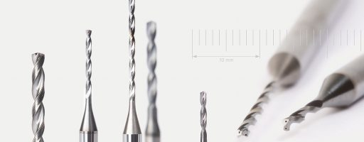 Die neue Bohrerserie Micro-Drill-Steel besteht aus Bohrwerkzeugen für die Stahlzerspanung im Mikrobereich. Mapal hat die kleinen Bohrer mit Innenkühlung für den Durchmesserbereich von 1,0 bis 2,9 mm im Programm. - Bild: Mapal