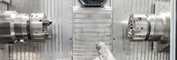 WFL: Kompaktes und leistungsstarkes Dreh-Bohr-Fräszentrum WFL M20 Millturn