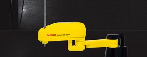 Dank der sehr hohen Traglast und Gelenken mit hohem Trägheitsmoment ist der Scara-Roboter SR-20iA von Fanuc eine effektive und kosteneffiziente Wahl für eine Vielzahl von Anwendungen. - Bild: Fanuc