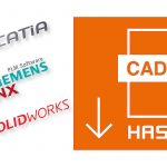 Die in den CAD-Datenbanken erzeugten Nativdaten umfassen zusätzlich auch die Einbauräume. So kann der Anwender erhebliche Zeiteinsparungen im Konstruktionsprozess realisieren. - Bild: Hasco