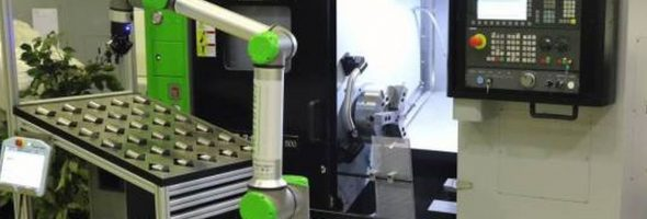 Hommel: Automatisierungslösungen für Caruso-Drehmaschinen mit Cobot UR10eCB5