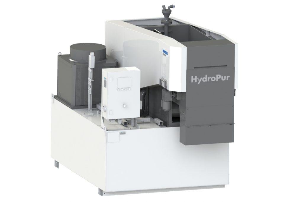 Die HydroPur-Filteranlage von Knoll lsäst sich exakt auf den jeweiligen Einsatzfall hin abstimmen. Der Anwender hat außerdem die Wahl zwischen zahlreichen nütgzlichen Optionen, mit denen er sein System auch zur High-End-Anlage hochrüsten kann. - Bild: Knoll