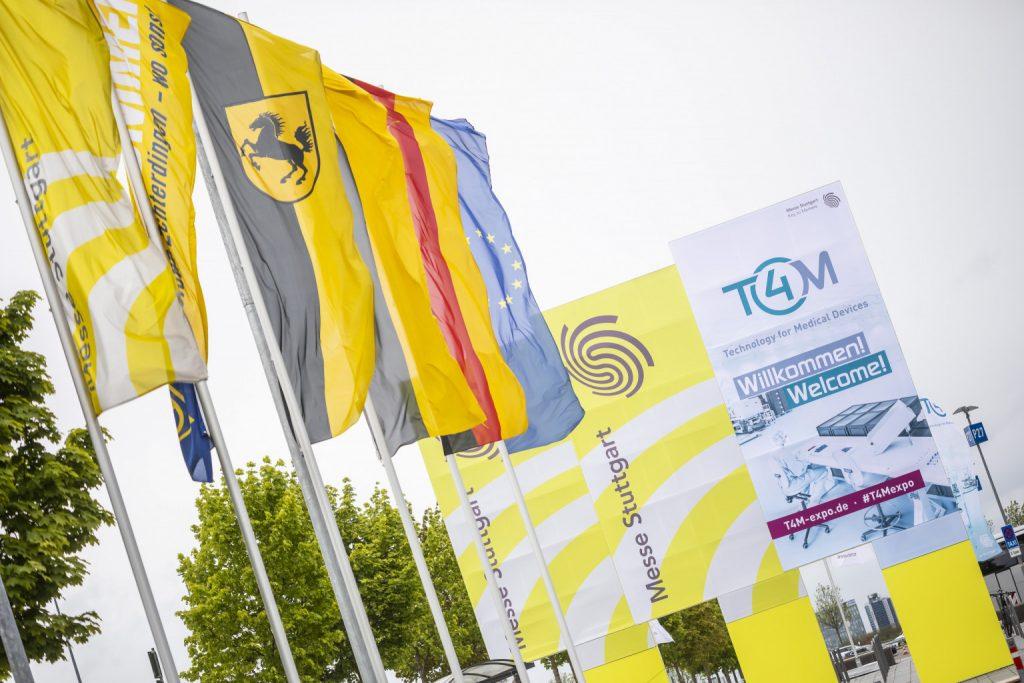 Die Messe Stuttgart verschiebt die Medizintechnik-Fachmesse T4M – Technology for Medical Devices 2021 auf den 08. bis 10. Juni. So steigt die Planungssicherheit für Aussteller und Besucher gleichermaßen. - Bild: Messe Stuttgart