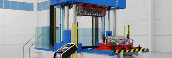 Millutensil: BV 34E komplettiert die Familie an Tuschierpressen für kleine und mittlere Werkzeuge