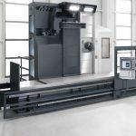 Die Starrbettfräsmaschine SB-M ist für den Werkzeugmaschinenhersteller MTE Deutschland aus Montabaur-Heiligenroth die Basis für eine Maschinenfamilie, die sich in weiten Bereichen modular gestalten lässt. Die neue Maschine kann sich sogar an bestehende Maschinenfundamente anpassen. - Bild: MTE