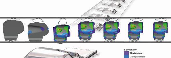 Logopress: Umformsimulation ProgSim für weniger Korrekturaufwand bei Folgeverbundwerkzeugen