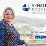 Nathalie Lorena Kletti ist Geschäftsführerin von MPDV. Jetzt wurde sie zudem als Senatorin in den Senate of Economy International berufen. - Bild: MPDV