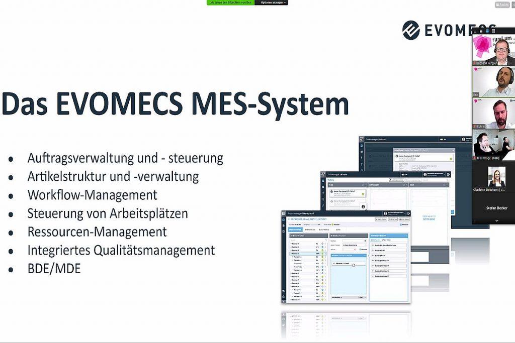 Das System von Evomecs ist auch im Kern technisch  hochaktuell. Es ist eines der modular aufgebauten Informationssysteme im Werkzeugbau und zeichnet sich auch darin aus, dass es sich mit Systemen anderer Hersteller sehr einfach vernetzen lässt. - Bild: Pergler Media