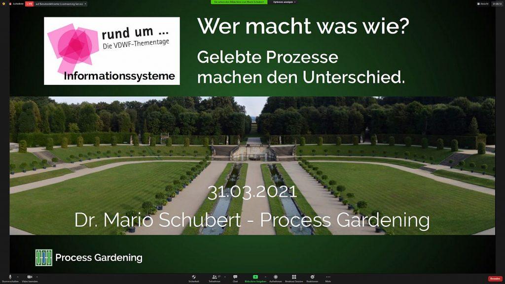 """Wenn Prozesse sauber dokumentiert sind, ist die Basis für eine erfolgreiche Weiterentwicklung gelegt: Was """"Im Process Garden steht"""", ist gesichertes Wissen, das für alle im Unternehmen zugänglich und anwendbar ist. - Bild: Pergler Media"""