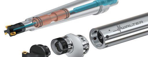Der Tübinger Präzisionswerkzeughersteller Walter erweitert die Möglichkeiten seines Programms zum vibrationsfreien Drehen und Fräsen. Neue Komponenten sind speziell auch für den Werkzeug- und Formenbau interessant. - Bild: Walter