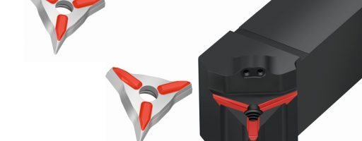Die prismatische Kontur sowohl im Plattensitz als auch auf der Platte des Systems W1011-P selbst sorgt für passgenauen Sitz im Halter. So kann sich die Platte zudem auch im Halter nicht mehr bewegen. Das ermöglicht laut Walter gegenüber ISO-Platten zudem eine um 50 Prozent höhere Genauigkeit. - Bild: Walter