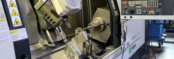 teamtec: Spezielle Nockenwellen rationell und präzise mit Biglia B1200 SmartTurn SExtended fertigen