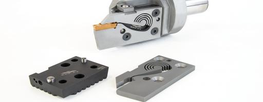 """Für mehr Flexibilität und nicht zuletzt für eine markante Zeitersparnis beim Radialstechen bringt Werkzeughersteller ZCC Cutting Tools Europe sein modulares Stechsystem """"zFlex"""" auf den Markt. Das neue Stechsystem eignet sich für eine breite Vielfalt an Stechoperationen. - Bild: ZCC-CT"""