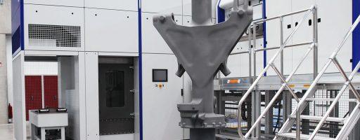Gemeinsam habenSafran Landing Systems und SLM Solutions die Selective-Laser-Melting-Technologie für die Fertigung einer Bugfahrwerkkomponente eines Business Jets untersucht. Ziel des Projekts ist der Nachweis der Machbarkeit für die Herstellung solcher Teile mittels Selective Laser Melting. - Bild: SLM Solutions