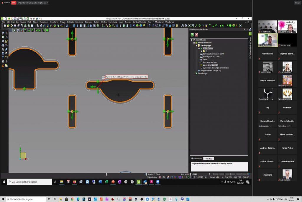 Unter Visi kann der Anwender mit unterschiedlichen Featureerkennungen arbeiten. Die sind zwar bereits sehr gut, aber der Programmierer hat zahlreiche Möglichkeiten, die einzelnen Features zu korrigieren und auszuarbeiten. Das funktioniert zum Teil auch in 2D - etwa zum Erstellen von Grenzkonturen. - Bild: Pergler Media