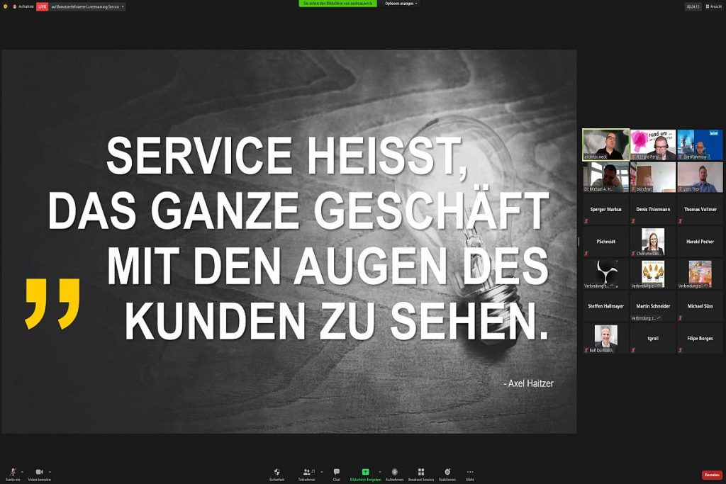 Andreas Weck zeigte in seiner Präsentation, wie sich mit leistungsfähigen Werkzeugen Graphitwerkstoffe effizient, präzise und wirtschaftlich bearbeiten lassen. - Bild: Pergler Media