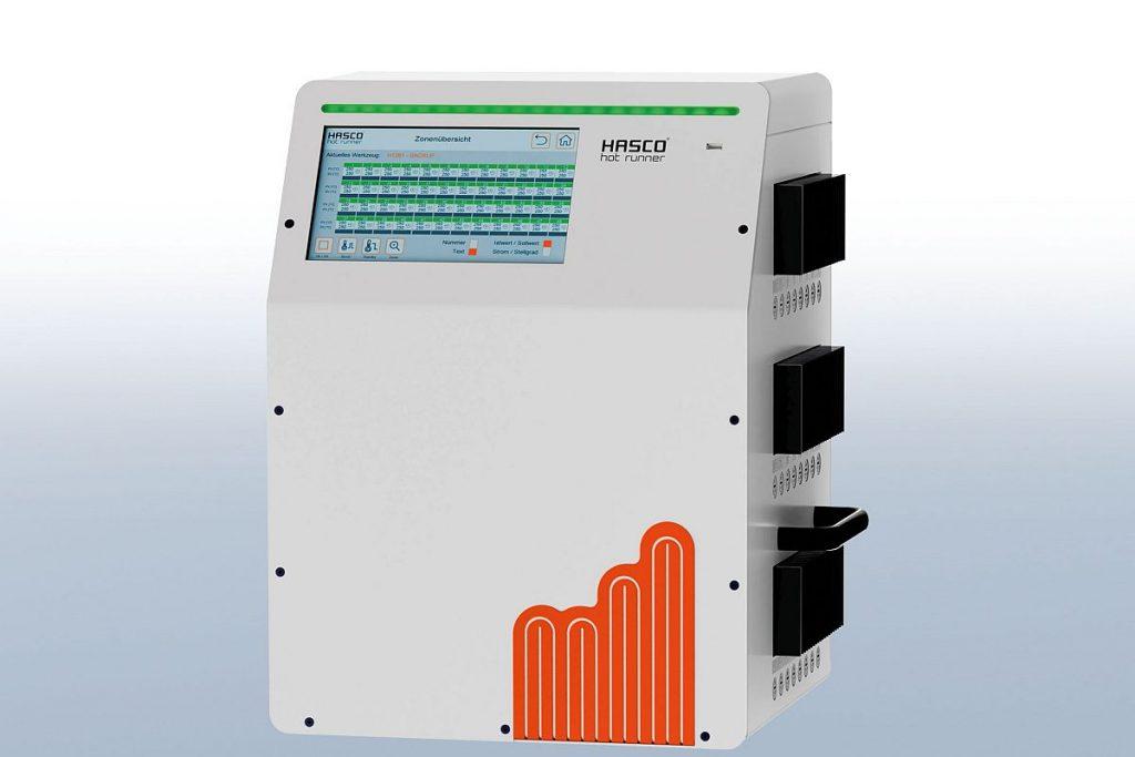 Das Heißkanalregelgerät Primezone H1281 ist bei Hasco ab sofort auch als 40- und 48-fach-Gerät verfügbar. Der Hersteller schließt mit seiner aktuellen Erweiterung die bisherige Lücke im Programm - Bild: Hasco