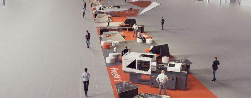 """Das Konzept der """"Road of Tooling Innovation"""": Hier zeigen Werkzeugmacher gemeinsam mit Herstellern von Spritzgießmaschinen, Peripherie und Werkstoffen barrierefrei und ohne Standgrenzen, wie State-of-the-Art-Produktionskonzepte aussehen können. Die Sonderschau, die eine der Attraktionen der Moulding Expo 2021 sein sollte, hat ihre virtuelle Heimat in den VDWF-Thementagen gefunden. Die K-ZEITUNG unterstützt die Innovatoren als Medienpartner. - Bild: Moulding Expo"""